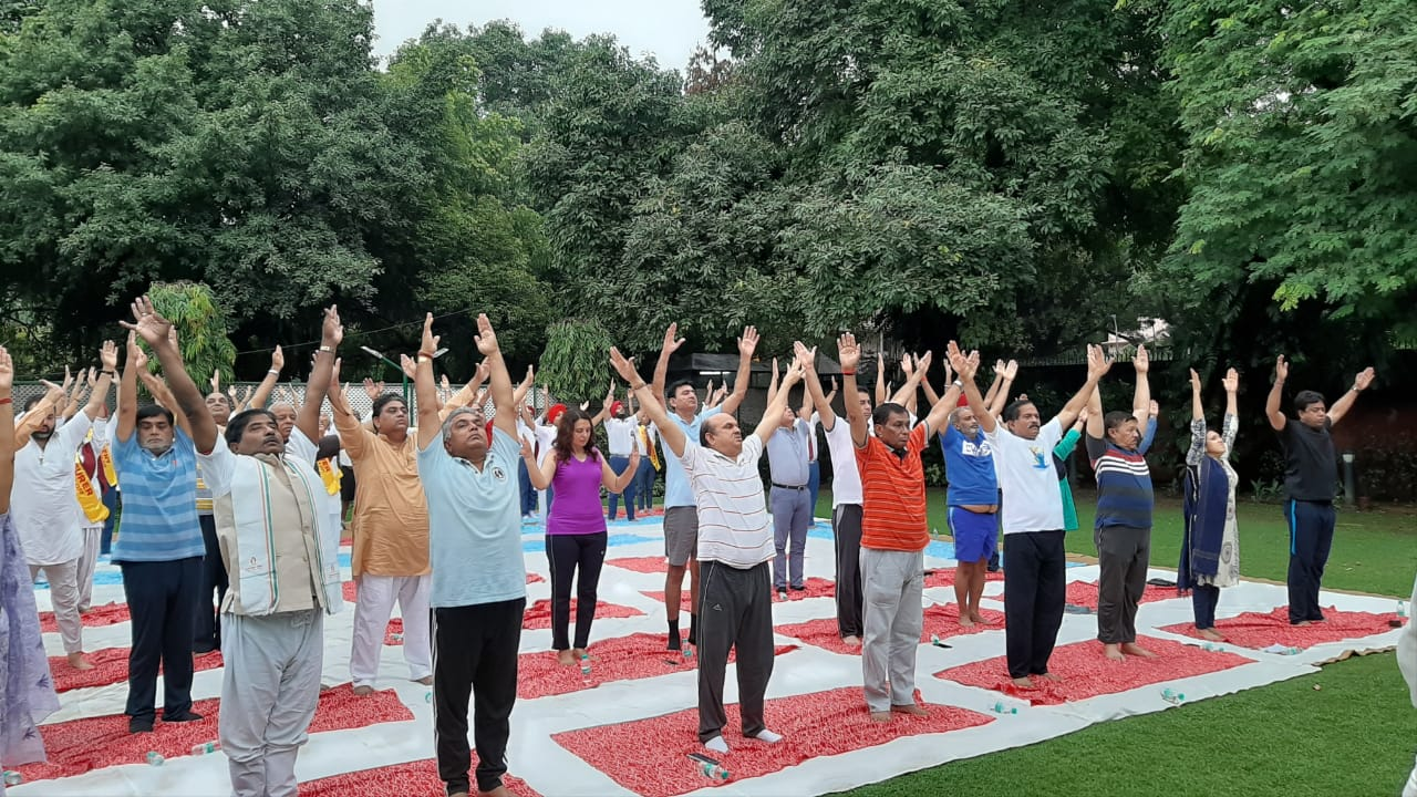 Celebrate the essence of yoga – 18 July 2019
